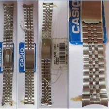 cinturino 18 casio 1330 mtp 1129a 7bef strap band buckle deployante steel watch