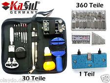 KaSul® |391 tlg XL Uhrenwerkzeugset |Uhren Werkzeug Tools Federstege mini Öffner