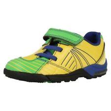 Scarpe gialli per bambini dai 2 ai 16 anni pelle chiusura a strappo