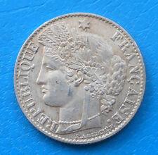 50 centimes Cérès 1895 A PARIS QUALITE EXTRA , cote SUP 45 ,SPL 90 (b)