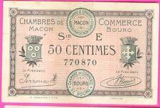 NECESSITE 50 CENTS CHAMBRE DE COMMERCE DE MACON ETAT : TTB lot 121