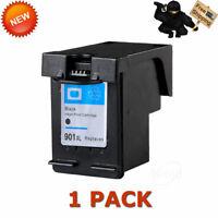 1x Black 901XL Ink Cartridge For HP Officejet J4550 J4580 J4624 J4660 J4680 4500