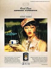 PUBLICITE ADVERTISING 045  2005  LAVAZZA  café CLUB