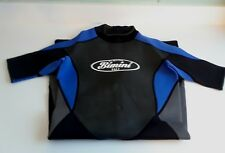 New Pro Dive Gear Bimini H2O Neoprene Wetsuit sizes M, L, XL, XXL Black/Blue