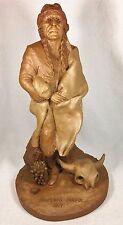 American Indian 1899-R 1983~Tom Clark Gnome~Cairn Item~Ed #67~Coa~Story