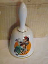 Limited Edition Norman Rockwell Bell Series - Knuckles Down - Look! 2 (No-Bx)