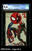 Marvel - Spider-Man/Deadpool #1 (Includes Vision #1) - CGC 9.4