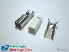 5 Pcs USB Type B Male Socket 4-Pin 180 Degree DIP Jack Connector