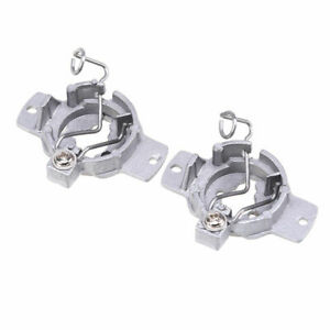2x LED Headlight Base Retainers Holder Bulb Adapter For Mercedes-Benz S320 Set
