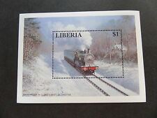 Trains, Railroads Liberian Stamps
