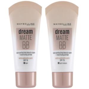 MAYBELLINE Dream Matte BB Skin Perfecting Cream 30ml SPF15 - CHOOSE SHADE - NEW