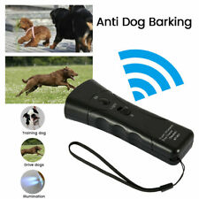 Ultrasonic Anti Dog Barking Pet Trainer LED Light Gentle Chaser Petgentle Sonic