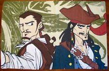 Pirates of the Caribbean Kraken Cream Pillow Case 30 X 20 Inch Standard Size