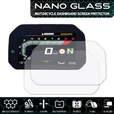 BMW R1200GS (2017+) Connectivity NANO GLASS Dashboard Screen Protector x 2
