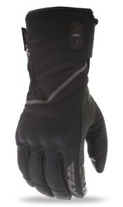Fly Racing Mens Ignitor Pro Heated Gloves Waterproof Snowmobile Black All Sizes