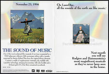THE SOUND OF MUSIC__Original 1994 Trade Print AD promo__SOUTH PACIFIC__OKLAHOMA