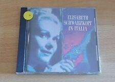 ELISABETH SCHWARZKOPF IN ITALIA - CD