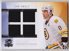 09-10 The Cup CAM NEELY Foundations Quad Jersey #d 10/25