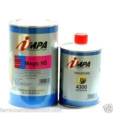 IMPA MAGIC HS 2K ACRYLIC CLEAR COAT ANTI-SCRATCH 1 LT high solids content