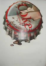 MICHAEL ENGLISH Coke  - Signed Print 70s Hapshash Eames
