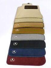 OEM GENUINE MERCEDES BENZ CARPET FLOOR MATS BURGUNDY 91-01 SEL CLASS V140 W140