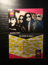 Sisters of Mercy ProSet Super Stars MusiCards (1991) US 1 trading card: #236