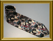 GONE WITH THE WIND AMERICAN FILM CLASSICS BLUES 100% SILK TIE NECKTIE