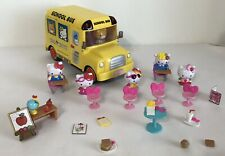 Hello Kitty School Bus and Accessories