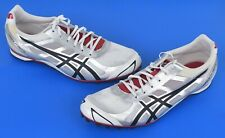 Asics G304N-190 Hyper MD 5 Track Spikes Shoes White Silver Black Mens Size 10