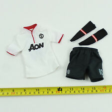 TE39-03 1/6th Scale ZCWO Manchester United No.10 White Jersey Set