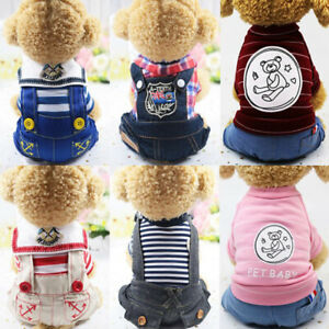 Four-legged Clothes Navy Style College Style Dog Clothes Pet Clothes Cat Clothes
