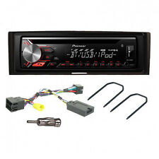 Pioneer DEH-3900BT Car CD Bluetooth Stereo + Fitting Kit Stereo for Renault Clio