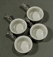 Black, Starr & Frost Sterling Cups     (4)            RAMEKINS & STERLING FRAMES