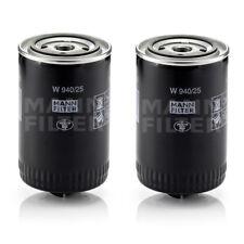 MANN W 940/25 Engine Oil Filter ( 2 Pack )