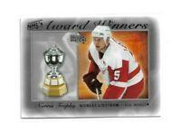 2007-08 UPPER DECK NHL AWARD WINNERS #AW3 NICKLAS LIDSTROM UD RED WINGS