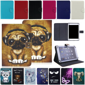 For Onn 7 inch Android Tablet Shockproof PU Leather Folio Flip Stand Case Cover
