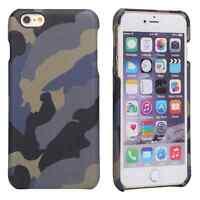 Coque en CUIR Camouflage iPhone 6/6S ou 6/6S Plus et 7/ 7 Plus Housse Protection