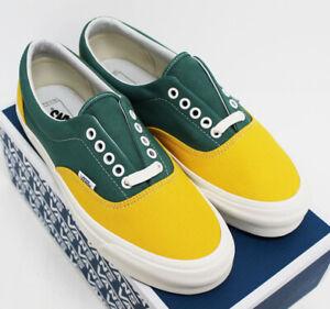 NIB VANS Men's OG Era LX Old-Gold Fir Canvas Lace-Up Low Top Sneakers Shoes