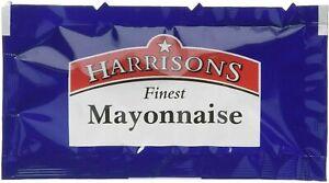 Mayonnaise Individual  BB 16/03/2022 10g Sachets Mayo Sauce NEW Harrison's