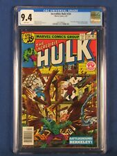 MARVEL COMICS CGC 9.4 THE INCREDIBLE HULK 234 4/79 WHITE PAGES