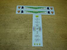 Schwinn Continental Bicycle Decal Set Very Colorful 1960 - 1961