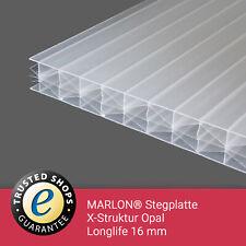 Polycarbonat Stegplatten KLAR 730 mm x 1200 mm 4mm Gewächshaus Glashaus Garten