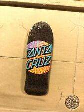 LC BOARDS Fingerboard Old School Shape Santa Cruz Graphic Brand New FREE Grip