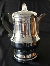 Vintage Coffee Maker FARBERWARE Automatic Percolator Art Deco Swag Etching