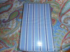 Ralph Lauren BROOKDALE STRIPE Blue/White Standard Pillowcases Pair  New