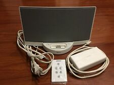 Bose Sound Dock Speaker iPod & iPhone Docking Station White with Remote