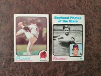 1973 TOPPS Baseball Jim Palmer 2-card lot #160 #341 - Baltimore Orioles Legend