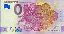 BILLET 0  EURO ALEKSANTERI 1 FINLANDE 2020 NUMERO DIVERS