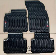 Audi Q8 original SQ8 Fußmatten 4 Gummimatten vorne + hinten Gummifußmatten
