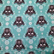 Star Wars Darth Vader Sugar Skulls Cotton Fabric by the YARD